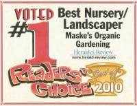2010 Herald & Review Readers' Choice #1 Best Nursery/Landscaper Award